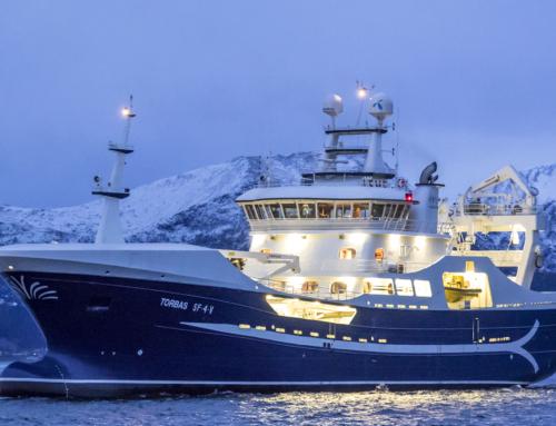 *Purse Seiner / Pelagic Trawler «Torbas» IMO 9686596, Stadyard AS  Bygg Nr 37