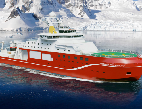 *Polar research vessel «RRS Sir David Attenborough» Cammell Laird Shiprepairers & Shipbuilders Ltd