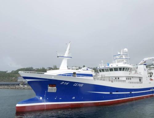 *Pelargic fishing trawler «Cetus» Fitjar Mekaniske Verksted AS  Bygg Nr 41