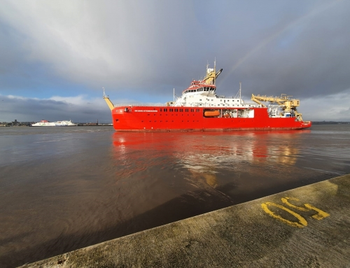*Polar research vessel «RRS Sir David Attenborough» Cammell Laird Shiprepairers & Shipbuilders Ltd